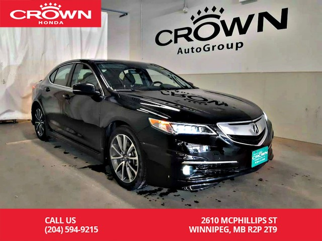 Pre-Owned 2017 Acura TLX SH-AWD Elite/ low kms/navidation/push start/sunroof/heated seats and steering wheel/back up cam