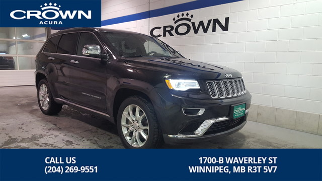 Pre-Owned 2016 Jeep Grand Cherokee Summit **4WD** V8** Fully Loaded**