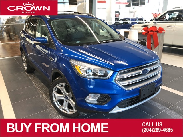 Pre-Owned 2017 Ford Escape Titanium 4WD *Navigation/Heated Seats/Winter Tires*