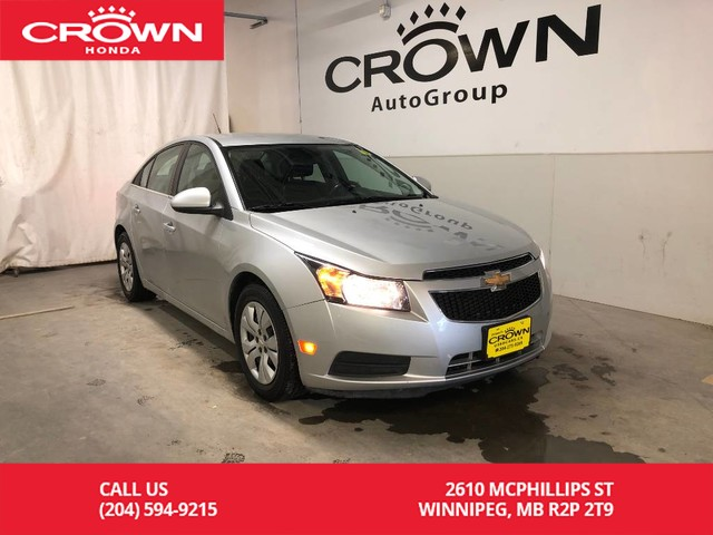 Pre-Owned 2014 Chevrolet Cruze 4dr Sdn 1LT/ LOW KMS/ BLUETOOTH/ KEYLESS ENTRY/ CRUISE CONTROL