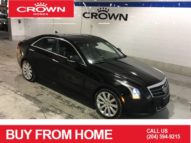 Pre-Owned 2014 Cadillac ATS 2.0L Luxury / AWD / Leather / Sunroof / Heated seats