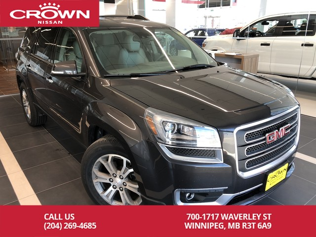 Pre-Owned 2014 GMC Acadia SLT1 AWD *Bluetooth/Navigation/Leather*