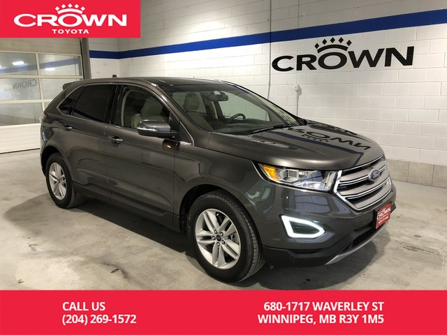 Pre-Owned 2017 Ford Edge SEL AWD / 201A Pkg / Canadian Touring Pkg / Low Kms / Navigation / Leather / Great Condition