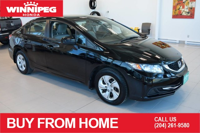 Pre-Owned 2015 Honda Civic Sedan LX / Heated seats / Bluetooth / Rear view camera