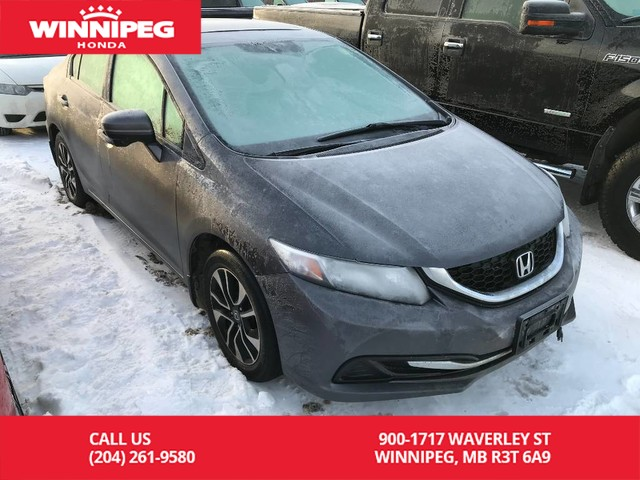 Pre-Owned 2015 Honda Civic Sedan EX/One owner/Accident free/Bluetooth/Heated seats