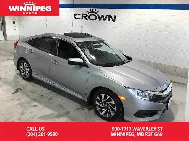 Pre-Owned 2016 Honda Civic Sedan Certified/EX/Lease return/Heated seats/Bluetooth