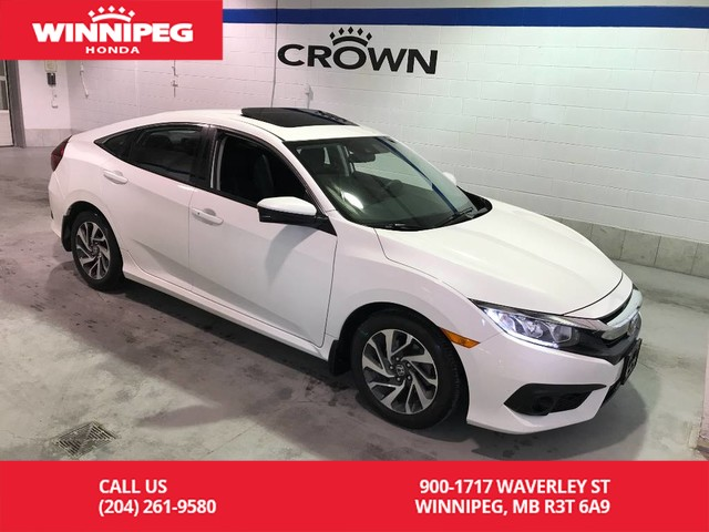 Pre-Owned 2017 Honda Civic Sedan EX/Heated seats/Bluetooth/Rear view camera/Lane watch display