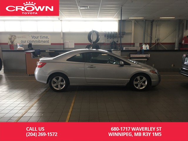 Pre-Owned 2007 Honda Civic Cpe 2dr AT EX / Local Vehicle/ Low Kms