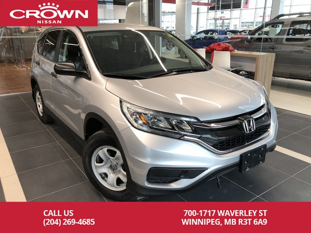 Pre-Owned 2016 Honda CR-V LX FWD *Clean CarFax/Bluetooth/Backup Cam*