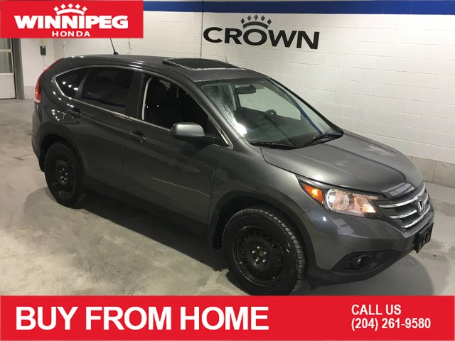 Pre-Owned 2014 Honda CR-V EX / AWD / Sunroof / Heated seats / Rear view camera