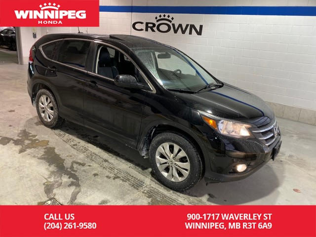 Pre-Owned 2013 Honda CR-V AWD/EX-L/Sunroof/Heated seats/Rear view camera