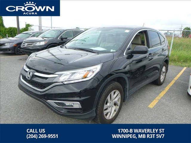 Pre-Owned 2016 Honda CR-V EX-L AWD *** Heated Leather Seats ** Sunroof**