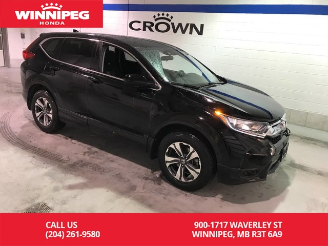Pre-Owned 2017 Honda CR-V Certified/LX/Heated seats/Push button start/Remote start