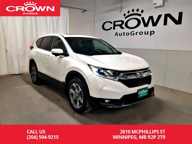 Pre-Owned 2017 Honda CR-V EX/ ***24th ANNUAL VICTORIA DAY SALE***/awd/one owner lease return/clean title/2-WAY REMOTE START/low kms/moonroof/push start/2-way remote start