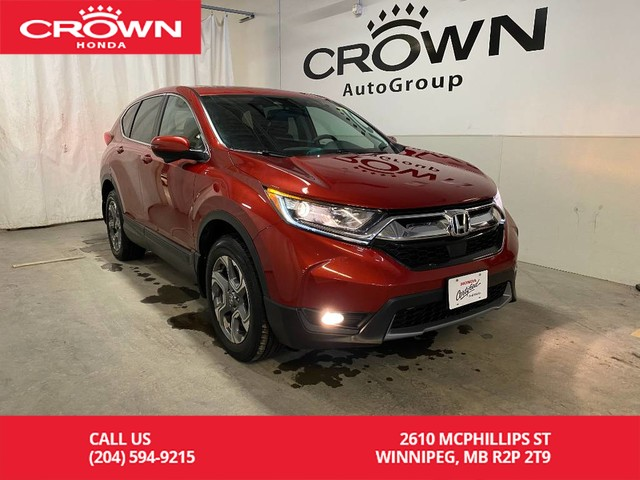 Pre-Owned 2017 Honda CR-V AWD 5dr EX/ ONE OWNER/ ACCIDENT FREE/ LOW KMS/ SUNROOF/ BACKUP CAMERA/ BLUETOOTH