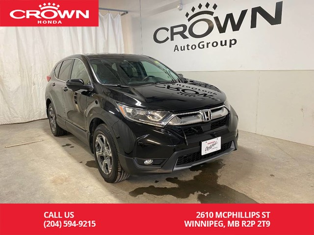 Pre-Owned 2017 Honda CR-V AWD 5dr EX-L/ ACCIDENT FREE/ LOW KMS/ APPLE CARPLAY & ANDROID AUTO/ SUNROOF/ BACKUP CAMERA