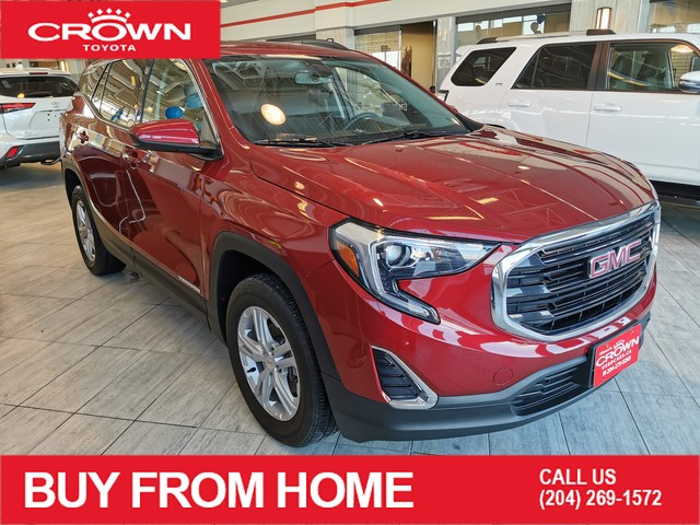 Pre-Owned 2018 GMC Terrain SLE | AWD | Accident Free
