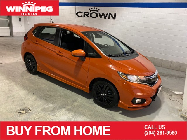 Certified Pre-Owned 2018 Honda Fit Sport w/Honda Sensing / heated seats / Bluetooth / Rear view camera