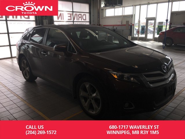 Pre-Owned 2015 Toyota Venza Limited V6 AWD / One Owner / Accident Free / Leather / Panoramic Sunroof / Great Condition