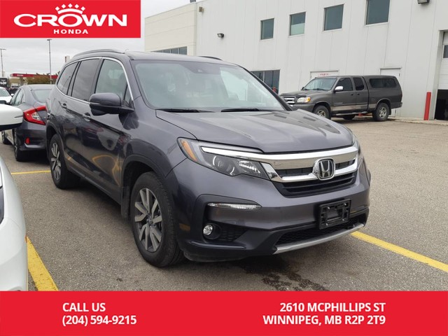 Pre-Owned 2019 Honda Pilot EX AWD/ ONE OWNER LEASE RETURN/ CLEAN TITLE/low kms/ 8 seater/ back up cam/ heated seats/ econ mode/ bluetooth