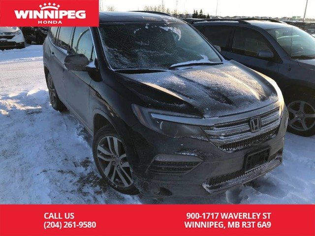 Pre Owned 2016 Honda Pilot Touring Lease Return Low Km Fully Loaded