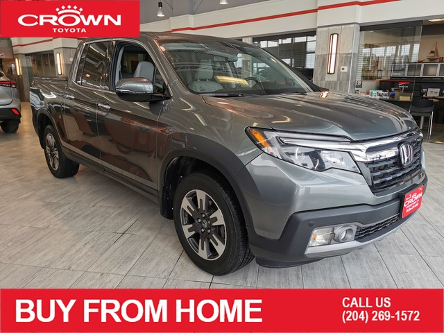 Pre-Owned 2017 Honda Ridgeline Local Trade | Low KMs | 4WD Crew Cab Touring