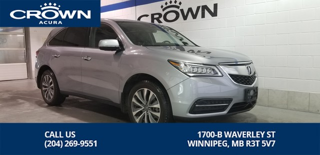 Pre-Owned 2016 Acura MDX Tech SH-AWD **Includes No Charge Extended Warranty** DVD Player**