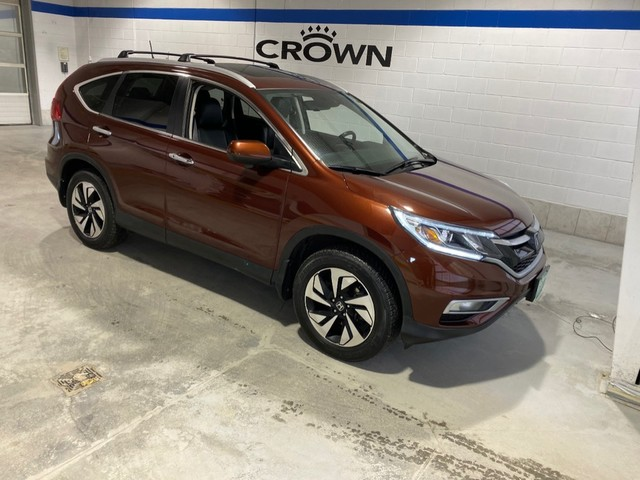 Pre-Owned 2016 Honda CR-V Touring / Bluetooth / Navigation / Leather / Power tail gate