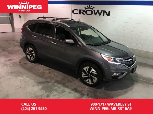 Certified Pre-Owned 2016 Honda CR-V Certified/Touring/Bluetooth/Heated seats/Sunroof