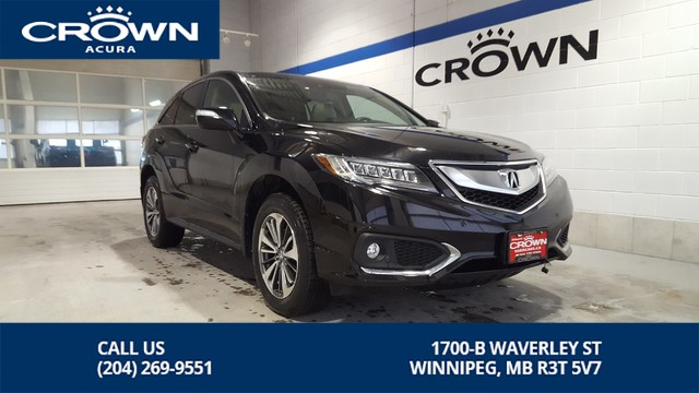 Certified Pre-Owned 2017 Acura RDX Elite AWD **Certified** **Heated & Cooled Seats** **Navigation**