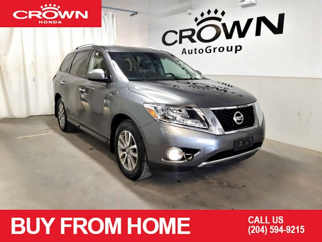 Pre-Owned 2015 Nissan Pathfinder 4WD 4dr SV/Electronic Stability Control/Front dual zone A/C/Steering wheel mounted audio controls