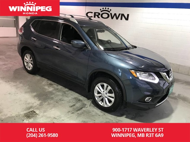 Pre-Owned 2016 Nissan Rogue SV/Rear view camera/Bluetooth/Heated seats
