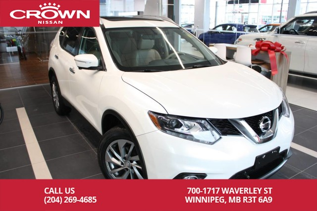 Pre-Owned 2015 Nissan Rogue SL AWD *Leather/Navigation/Moonroof*