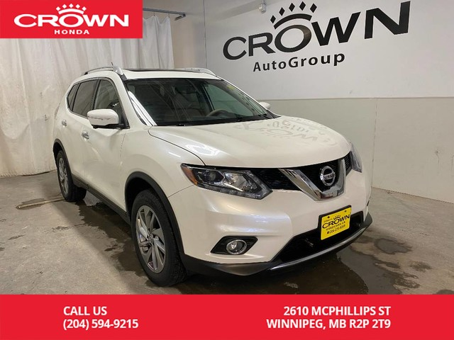 Pre-Owned 2015 Nissan Rogue SL/ PUSH START/ HEATED FRONT SEATS/ BLUETOOTH/ MULTI-ANGLE CAMERA/ NAVI