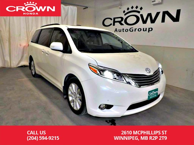 Pre-Owned 2017 Toyota Sienna Limited/***24th ANNUAL VICTORIA DAY SALE***/one owner/ low kms/ 7passenger/rear entertainment system/