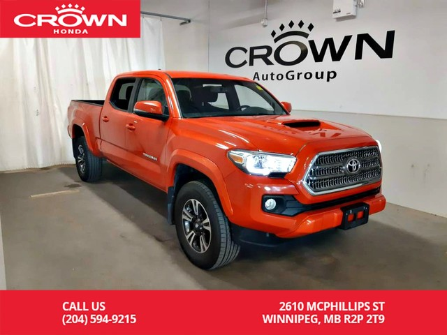 Pre-Owned 2017 Toyota Tacoma TRD Sport/ ACCIDENT-FREE HISTORY/ LOW KMS/Automatic/ BACK UP CAM/ NAVIGATION SYS/ ECON MODE