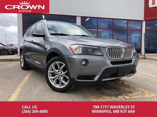Pre-Owned 2014 BMW X3 xDrive28i AWD *Bluetooth/Trade In*