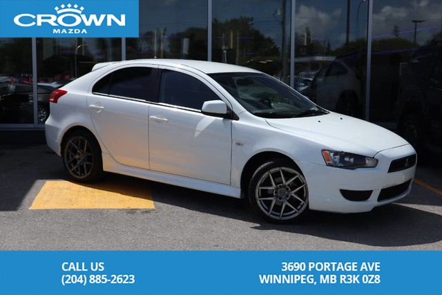 Pre-Owned 2014 Mitsubishi Lancer Sportback SE **Winter Tires On Rims Included**
