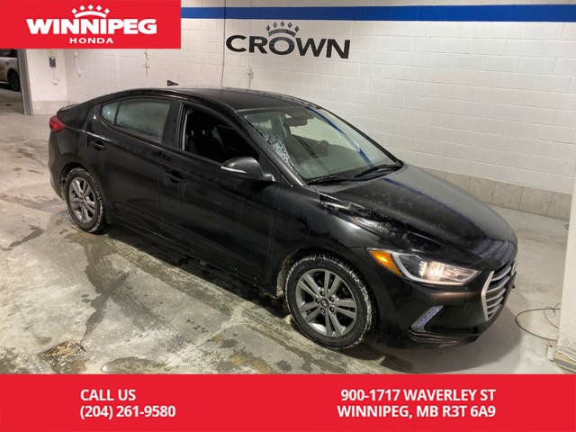 Pre-Owned 2017 Hyundai Elantra SE/Heated seats/Rear view camera/Factory warranty remaning
