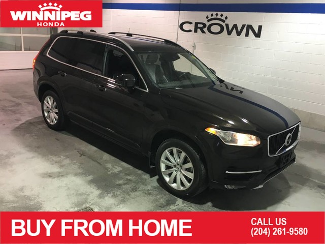 Pre-Owned 2016 Volvo XC90 AWD / T6 Momentum / Navigation / Leather / Heated seats / Power