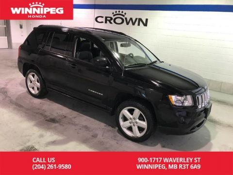 Pre-Owned 2013 Jeep Compass 4WD/Limited/Leather/Sunroof/Navigation/Bluetooth