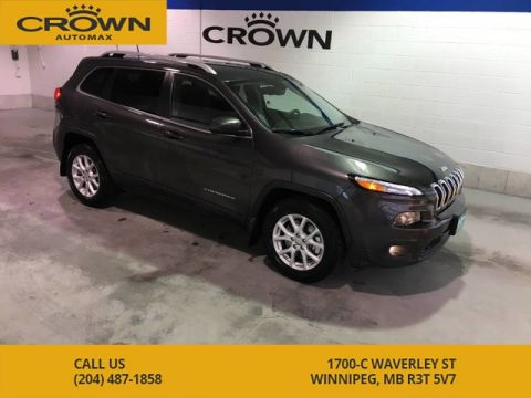 Pre-Owned 2016 Jeep Cherokee 4WD North **Extremely low mileage, Local vehicle, No accidents**