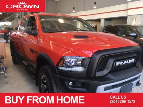 Pre-Owned 2017 Ram 1500 One Owner | Local Trade | Crew Cab | Rebel Edition