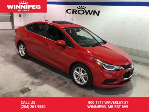 Pre-Owned 2016 Chevrolet Cruze LT/Bluetooth/heated seats/rear view camera/push button start