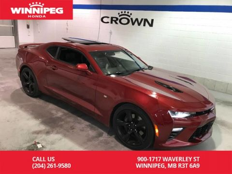 Pre-Owned 2017 Chevrolet Camaro SS w/2SS/heated steering wheel/climate seats/navigation/heads up