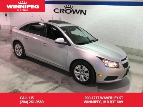 Pre-Owned 2013 Chevrolet Cruze LT/1SA/Sunroof/Bluetooth/Rear view camera