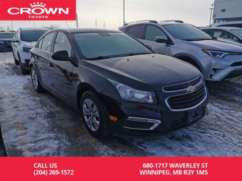 Pre-Owned 2016 Chevrolet Cruze Limited LT 1.4L Turbo / Manitoba Vehicle / Highway Kms / Great Condition