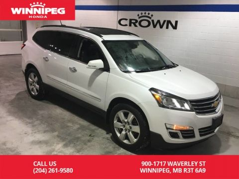 Pre-Owned 2016 Chevrolet Traverse LTZ/AWD/Panoramic roof/Fresh Safety/Tires 8/32