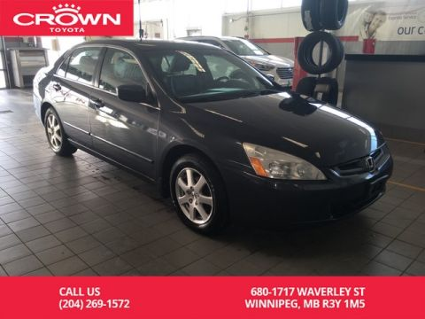 Pre-Owned 2005 Honda Accord Sdn EX V6 Auto / Fully Loaded / One Owner / Leather / Local / Only Services At Honda