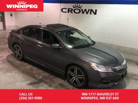 Certified Pre-Owned 2016 Honda Accord Sedan Certified/Touring/Sunroof/Navigaiton/Bluetooth